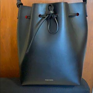 Original Mansur Gavriel Bucket Bag in Flamma